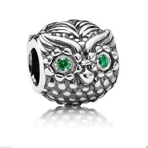 Authentic Pandora Charm Sterling Silver Wise Owl